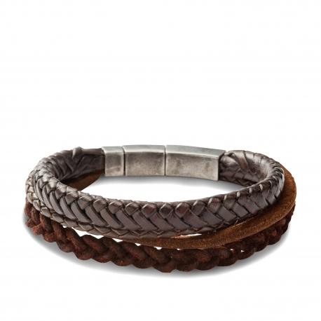 Bracelet Cuir Fossil