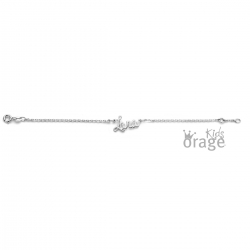 Bracelet prénom découpé type 2